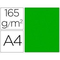 Papel color Liderpapel verde A4 165g/m2 9 hojas