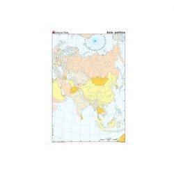 Mapa mudo Asia politico