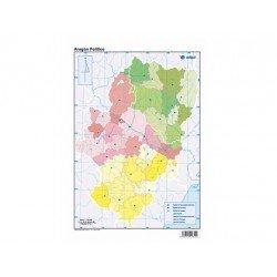 Mapa mudo Aragon politico