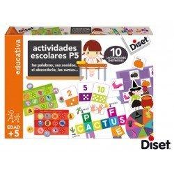 Juego Diset didactico actividades escolares p5