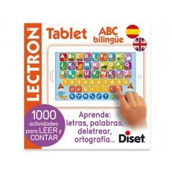 Juego educativo a partir de 4 años Lectron mini tablet ABC bilingue Diset