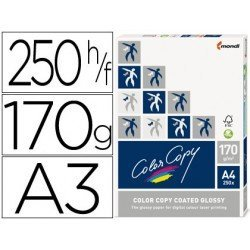 Papel multifuncion Mondi Color Copy A3 170 g/m2 Brillo