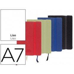 Libreta Liderpapel encolada liso Din A7