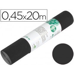 Rollo adhesivo Liderpapel Aironfix mate negro
