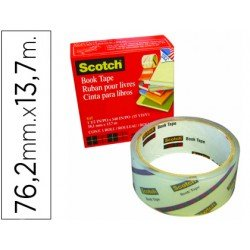 Cinta adhesiva Scotch 845 Book Tape
