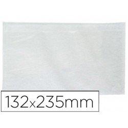 Sobre autoadhesivo q-connect portadocumentos 232 x 130 mm