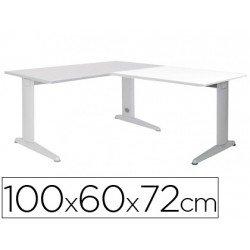 Ala para mesa Rocada Metal Wengue 2102