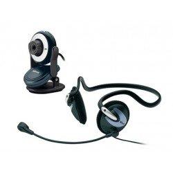 Camara web con auricular Trust cp-2150 chat pack