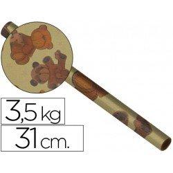 Bobina papel kraft 31 cm 3,5 kg 4241