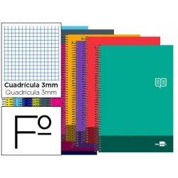 Bloc Folio Liderpapel serie Discover cuadricula 3 mm