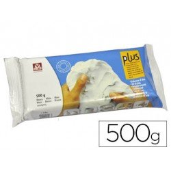 Arcilla Sio-2 plus blanco 500 g