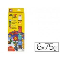 Arcilla Sio-2 paquete 6 colores surtidos 75g