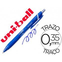 Boligrafo Uni-Ball roller SXN157C Jetstream azul 0.35 mm