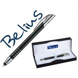 Boligrafo Belius negro puntero tactil