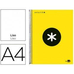 Bloc Antartik A4 Liso tapa Forrada 100g/m2 color Amarillo 5 bandas color