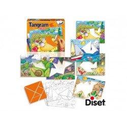 Juego educativo a partir de 3 años Tangram Kids Diset