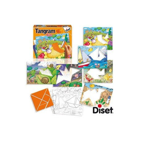 Juego Educativo A Partir De 3 Anos Tangram Kids Diset 78108