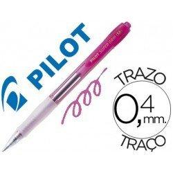Boligrafo Pilot Super Grip Rosa neon