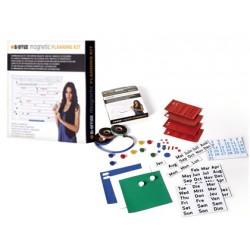 Kit de accesorios planning magnetico Bi-Office