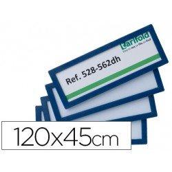 Identificador para puertas-pared Azul 120x45 MM