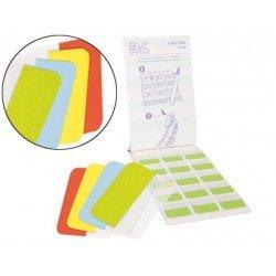 Banderitas separadoras 3l Office rigidas medianas 4 colores