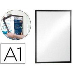 Porta anuncios DURABLE magnetico DIN A1 negro