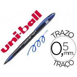 Boligrafo Uni-Ball roller AIR 188M azul 0,5 mm