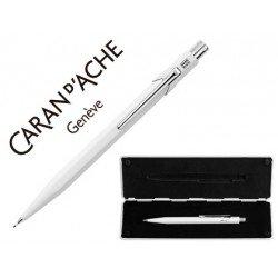Estuche blanco portaminas Caran D´ache 844 trazo 0,7mm