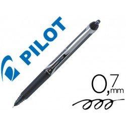 Boligrafo Pilot V-7 retractil 0,5 mm Negro