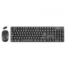 Set teclado raton NGS Groove inalambrico conector OTG