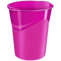 Papelera plastico Cep Rosa de 14 litros