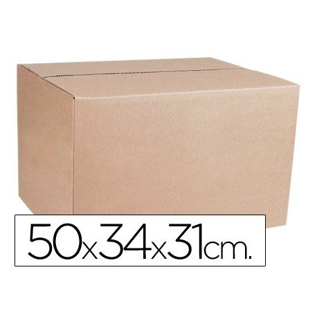 Cajas de embalar anonimas 50x34x31 cm