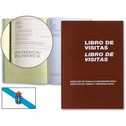 Miquelrius Libro de visitas castellano-gallego tamaño Folio