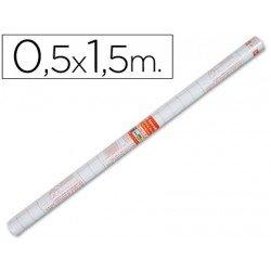 Rollo plastico forralibros Liderpapel 0.50 x 1.50 m