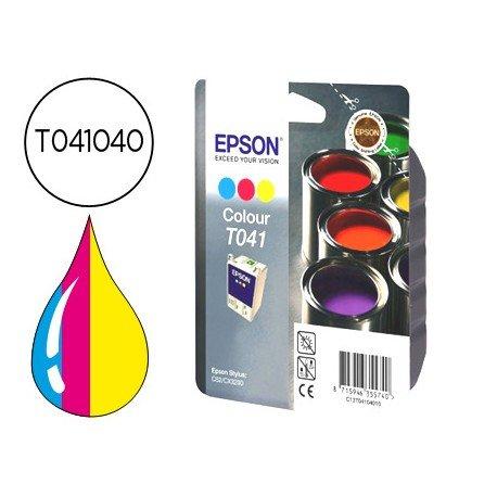 Cartucho Epson T041040 Tricolor, T040