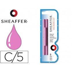 Cartuchos de tinta Sheaffer Classic rosa