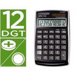 Calculadora bolsillo Citizen CPC-112 negra