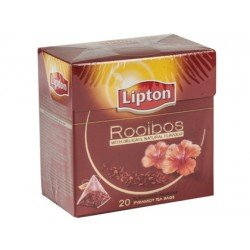 Infusion Lipton sin teina piramide rooibos