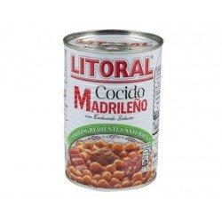 Cocido madrileño Litoral preparado para calentar