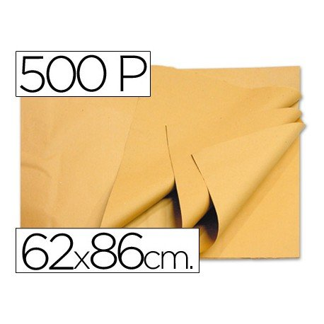 Papel Manila crema Medida: 62 x 86 cm.