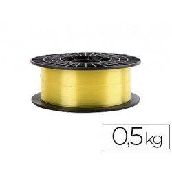 Filamento 3d Colido Gold translucido X PLA 1.75 mm amarillo