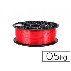 Filamento 3d Colido Gold translucido X PLA 1.75 mm rojo