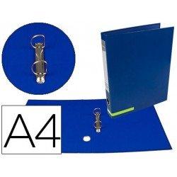 Carpeta Liderpapel carton forrado Color System A4 azul
