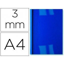 Tapa de Encuadernacion Termica PVC y Cartulina GBC A4 Azul