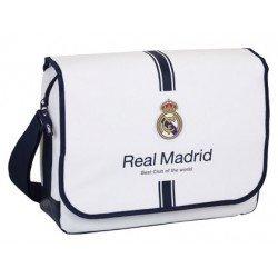 "Bandolera Real Madrid para ordenador portatil 15, 6"" 40x29x11,5 cm 1º Equipación"