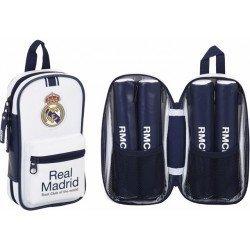Plumier Real Madrid 12x5x23 cm 1º Equipacion 4 portatodos