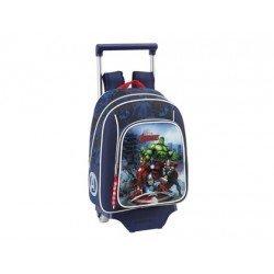 Mochila Infantil Avengers Assemble Con Carro 27x10x34 cm