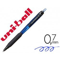 BOLIGRAFO UNI-BALL JETSTREAM RETRACTIL SXN-101 0,7 MM AZUL