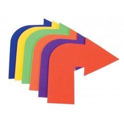 Flecha curva de caucho antideslizante set de 6 unidades marca Amaya