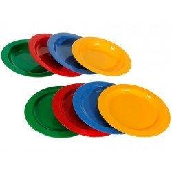 Platos de plastico especiales para niños marca Miniland